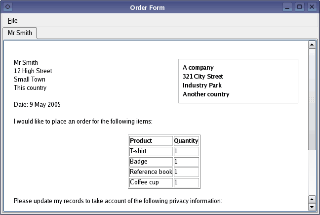 order book sample koni polycode co