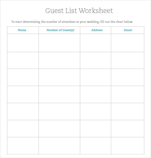 party guest list image 5