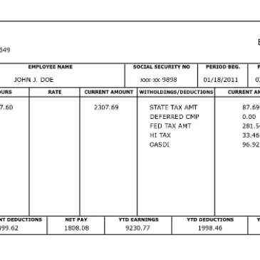 Free pay stub template in word archives word templates for Paycheck stub template in microsoft word