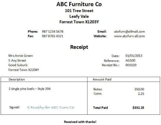 payment receipt image 8