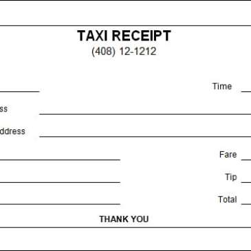 editable taxi receipt archives word templates. Black Bedroom Furniture Sets. Home Design Ideas