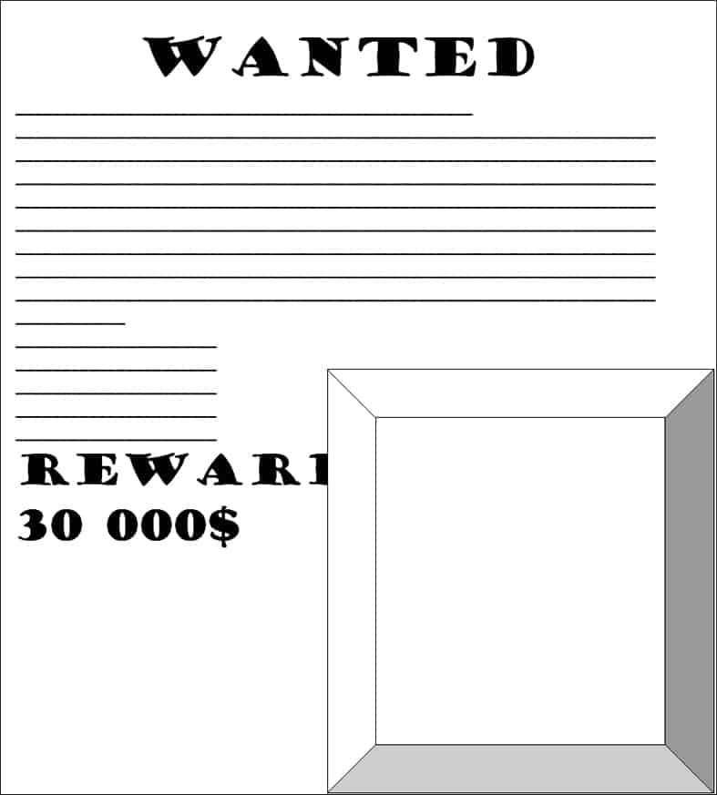 wanted poster image 8