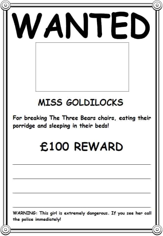 wanted poster image 9