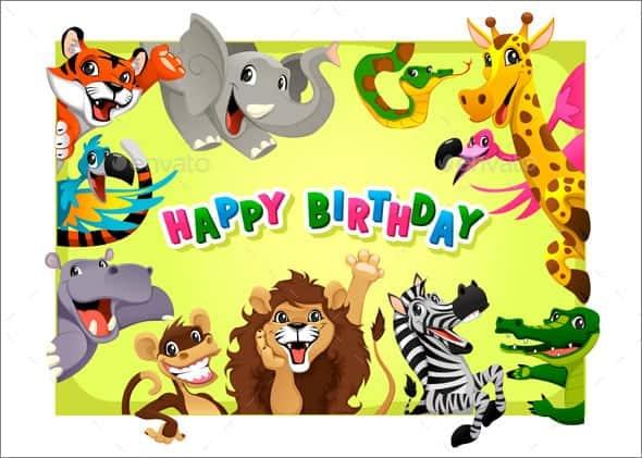 template birthday card