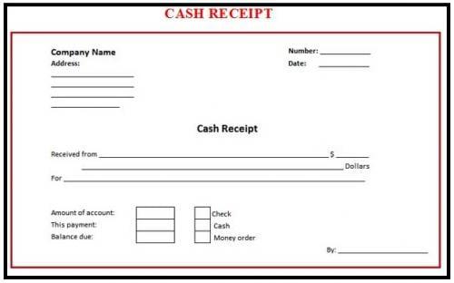 8+ Cash Receipt Templates - Word Excel PDF Formats
