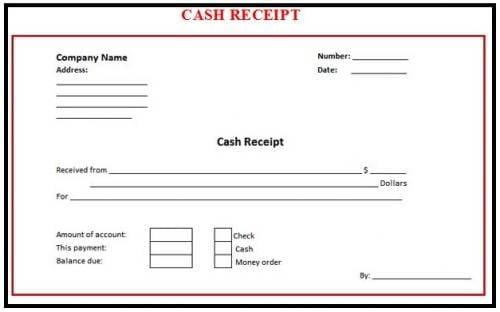 8 Cash Receipt Templates Word Excel PDF Formats – Sample Receipts Templates