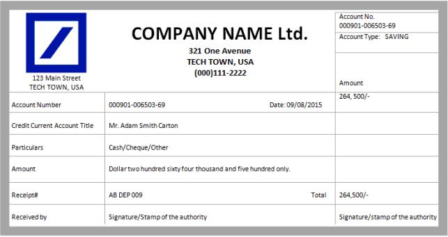 cash receipt template 7