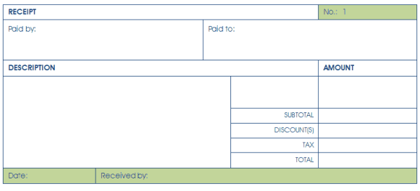 8 Cash Receipt Templates Word Excel Pdf Formats