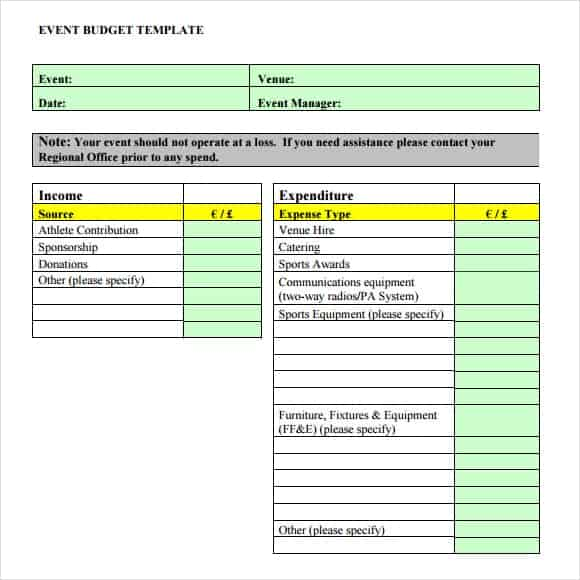 How To Plan Your Fundraising Strategy Download And Create Your Own Document  With Fundraising Event Budget Template (113KB | 2 Page(s)) For Free.