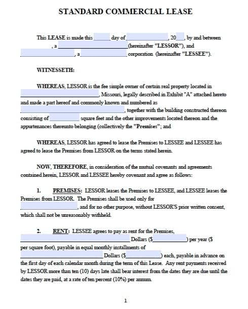 Lease Agreement Templates Word Excel PDF Formats - Leasehold agreement template