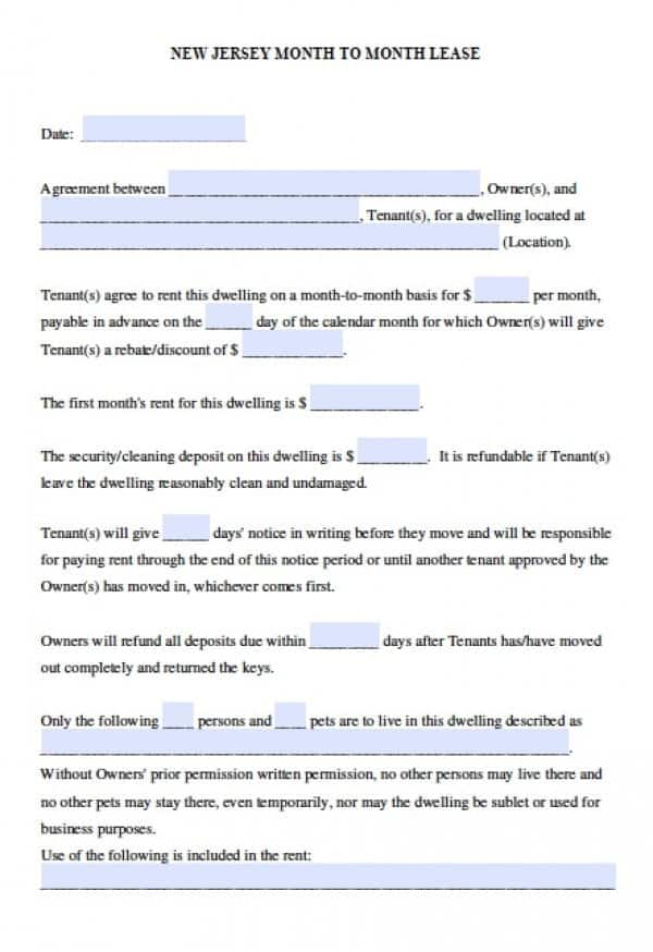 lease agreement template 15