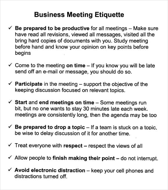 Managers Meeting Agenda Template I Have Put A Copy Of My
