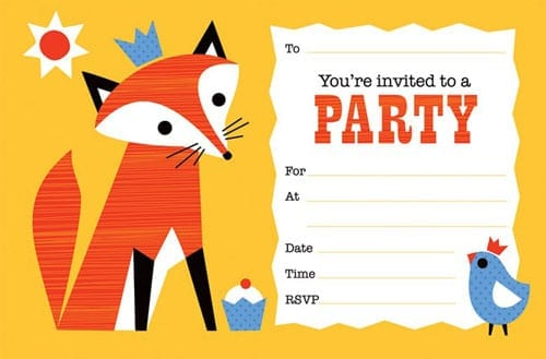 party invitation template 3