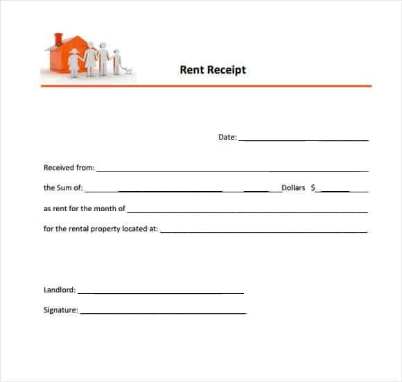 rent receipt 6