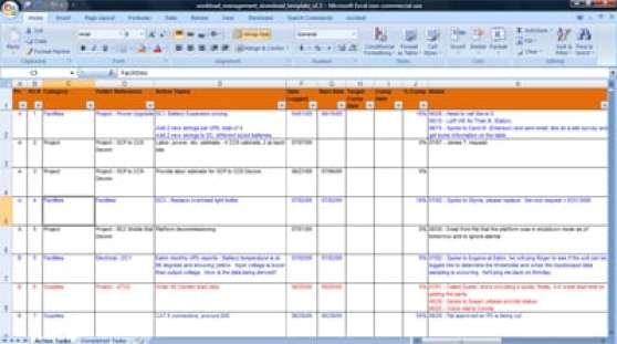 task list template 4