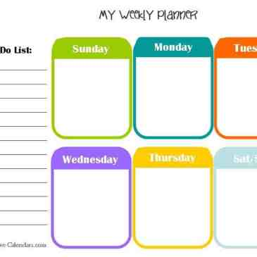 10 Weekly Planner Templates