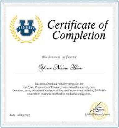 10 certificate of completion templates word excel pdf formats