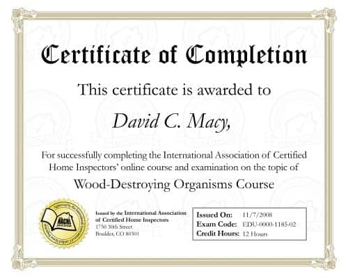 Certificate Of Completion Templates  Word Excel Pdf Formats