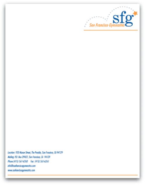 company letterhead template 8451