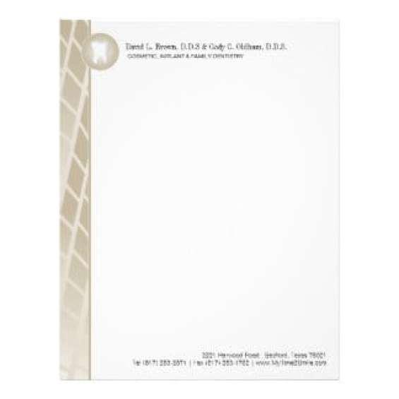 company letterhead template 8746