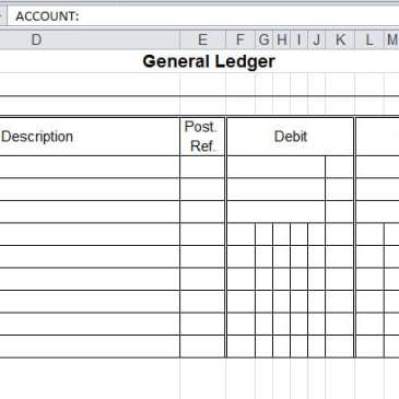29 mar 2016 9 general ledger templates by meadmin posted in templates