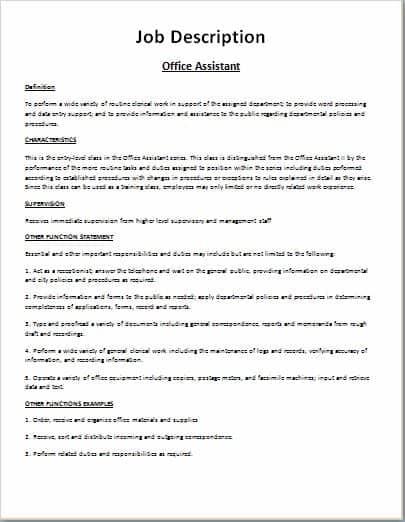 job description template 16451