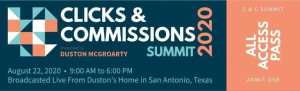 Read more about the article Duston McGroarty – Clicks & Commissions Summit 2020