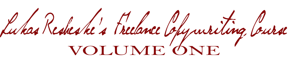 Lukas Resheske – Freelance Copywriting Course