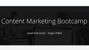 Read more about the article Sujan Patel – Content Marketing Bootcamp