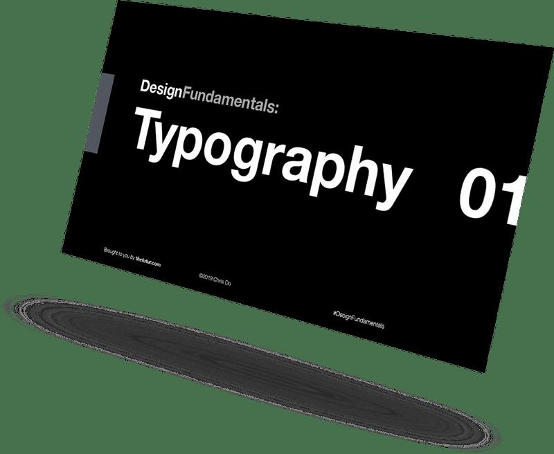 Chris Do – Typography 01