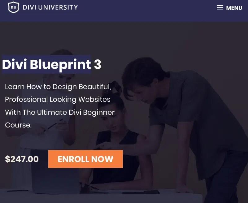Read more about the article Divi University – Divi Blueprint 3