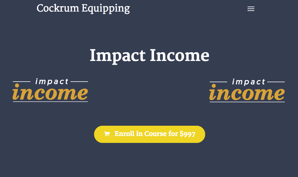 Read more about the article Trey Cockrum – Impact Income