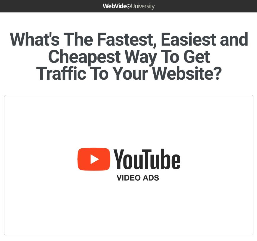 Dave Kaminski – YouTube Video Ads For Regular People