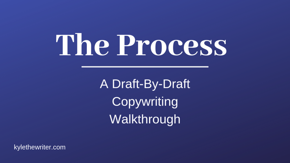 Kyle Milligan – The Process