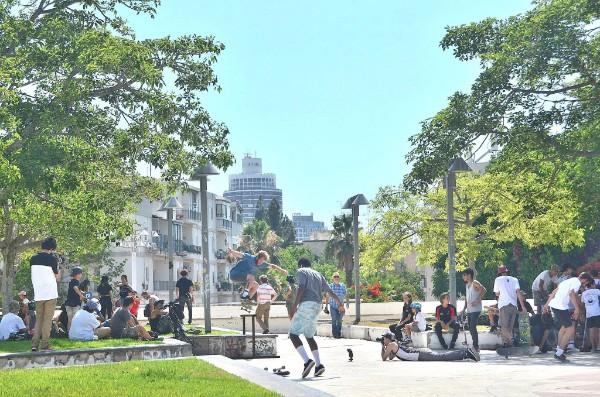 יום הסקייטבורד הבינלאומי TEL AVIV GO SKATEBOARDING DAY 2017
