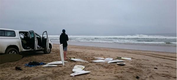 שלדים בארון בחוף סקלטון ביי , נמיביה