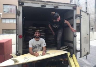 חנות גלשני הגלים יד 2 הראשונה בישראל