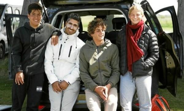 הישג מצוין לגולשים הישראלים בתחרות ה QS בצרפת