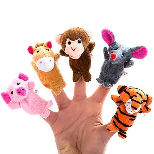 Finger puppets for traveling hacks