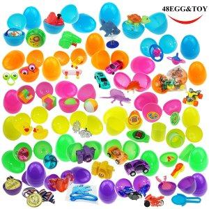 Easter Egg filled Eggs