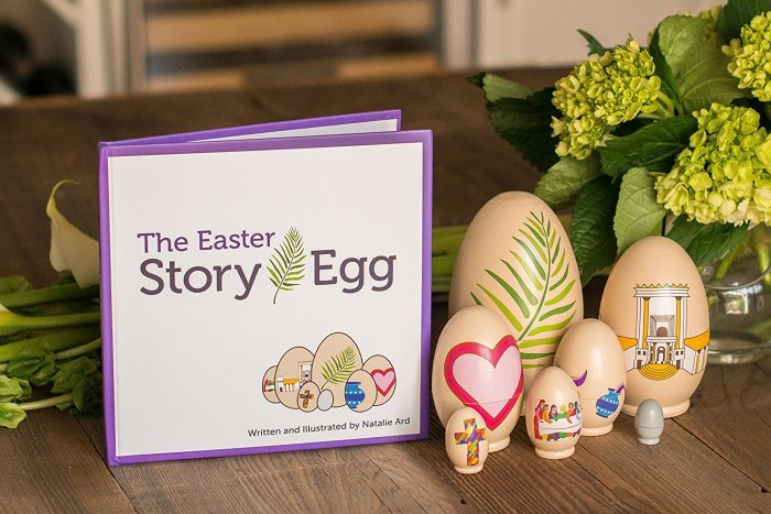 The Easter Story Egg Book Family tradition. Celebrating the true meaning of Easter with this interactive hands on activity.