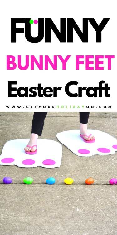 Learn how easy it is to make Easter Bunny Feet.