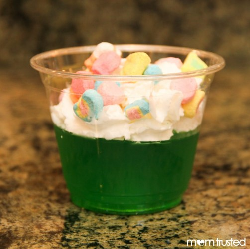 fun green food ideas for kids this St. Patricks day
