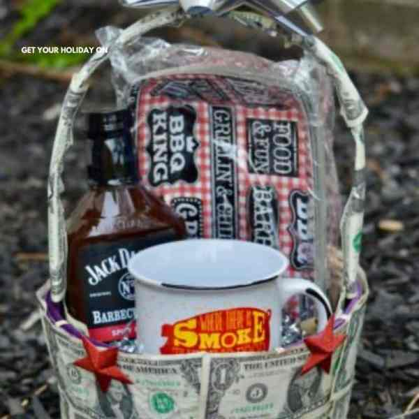 Money gift baskets for the holidays or Easter