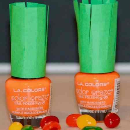 Learn easy ways on how to make Easter nail polish. You will find orange carrot nail polish, bunny rabbit nail polish diy, and baby chick nail polishes.