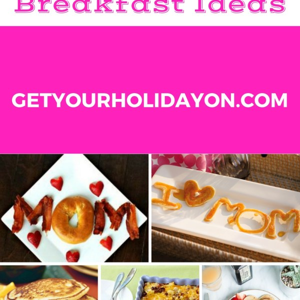 5 Mother's Day Breakfast Ideas