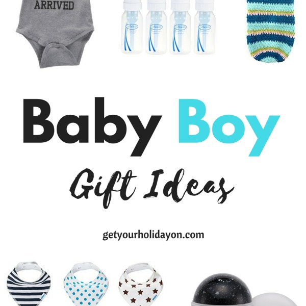 Are you searching for baby boy gift ideas? This is the perfect opportunity to find adorable baby shower gift ideas, Christmas gift ideas, or for another occasion. These baby blankets, outfits, or keepsakes will be sure to make any new mom smile.