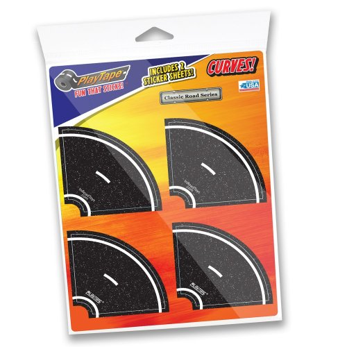 If you want to keep the fun going and want to add in the curves check out Play Tape 2 found here so your child can add curves to the Black Road Car Tape. This tape is also removable and safe for your child. This will encourage staying of the iPads and tablets. Perfect for those HotWheel and Matchbox cars.