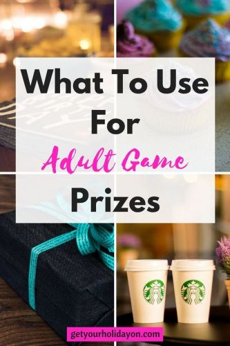 What To Use For Adult Game Prizes Adult Game Prizes! Do you have an adult party coming up and looking for prize ideas? If so, you have come to the right place. Here you will find adult prize ideas that can be used for… door prizes, shower prizes, hilarious and funny adult party favors, white elephant, and more. #party #plan #birthday #babyshower #diy