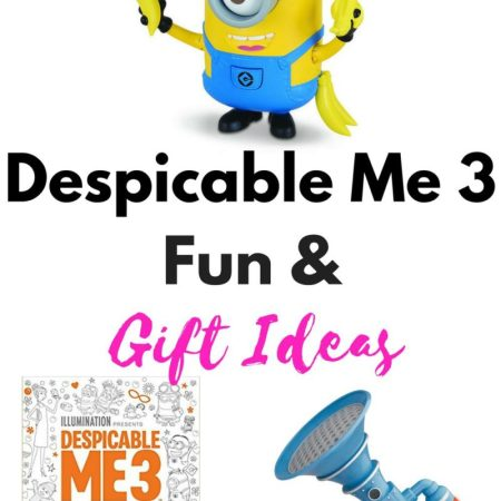 We are big time fans of the moviesMinions, Despicable Me, Despicable Me 2and we cant wait to get our our Despicable Me 3 fun on! Check out these awesome gift ideas that are awesome for any kid or adult fan!